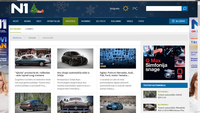 Automobili - N1 info
